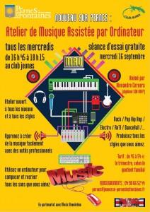 Capture atelier musique rentrée septembre 2015